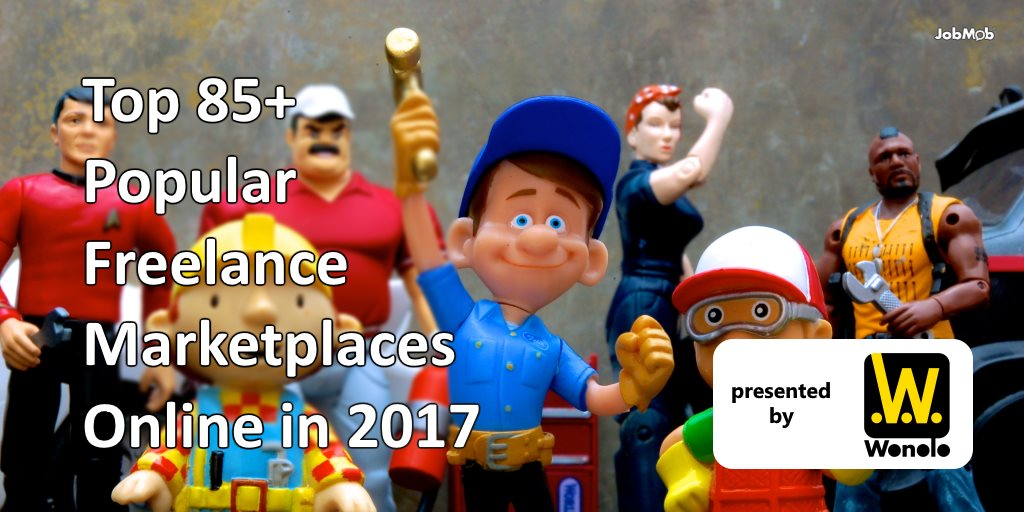 💵 Top 85+ Popular Freelance Marketplaces Online in 2017