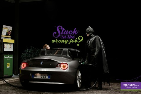 batman recruitment marketing