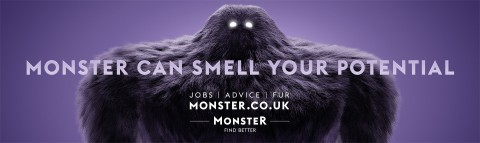 monster can smell your potential recruitment marketing