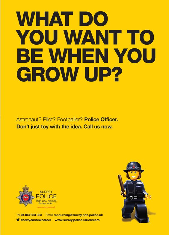 surrey police recruitment marketing