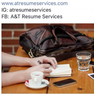 A and T Resume Services logo