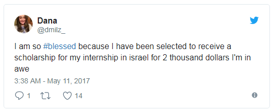 internships in israel 1
