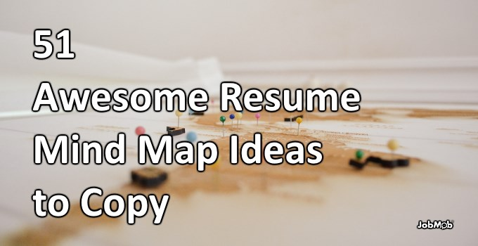 47 Awesome Resume Mind Map Ideas to Copy