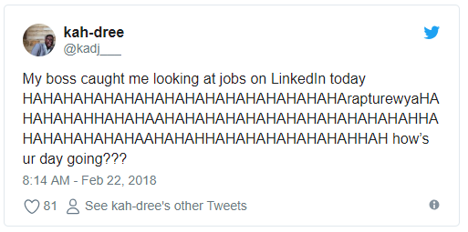 linkedin job search while employed 5