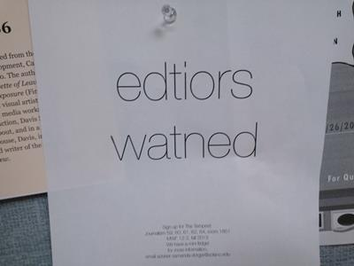 editors wanted funny job ads