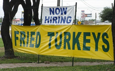fried turkey funny job ads