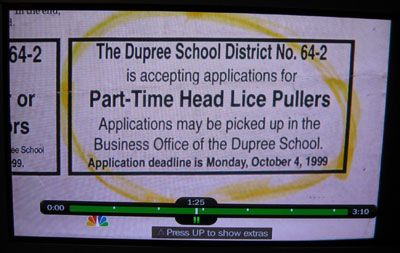 head lice puller funny job ads