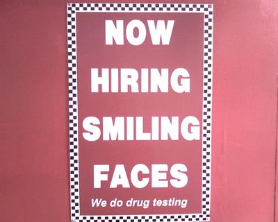 smiling faces funny job ads