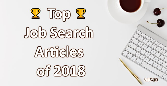 🏆 Top Job Search Articles of 2018