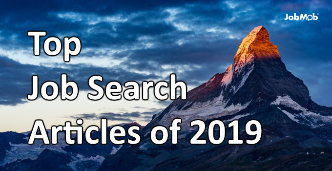 🗻 Top Job Search Articles of 2019