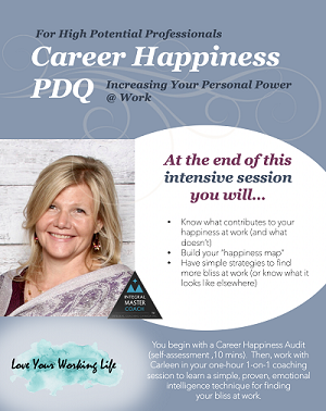 love your working life - career happiness