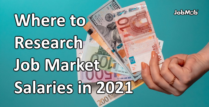 Read more about the article 💸 Where to Research Job Market Salaries in 2021