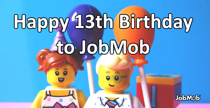 🍰 Happy 13th Birthday to JobMob