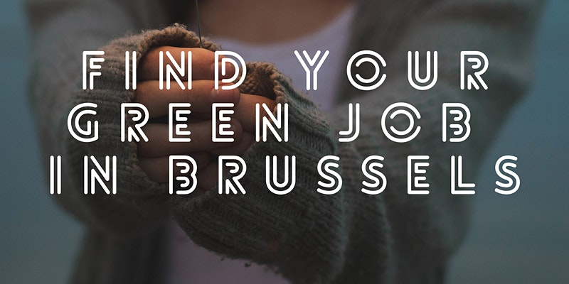 Find your green job in Brussels