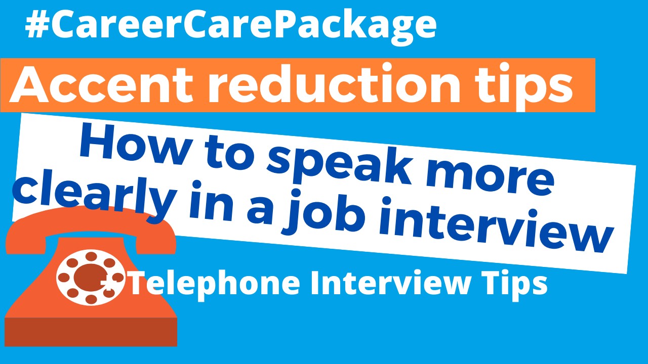"Career Care Package # 132 ""Could you repeat that?"" What to do when you suspect people can't understand your accent."