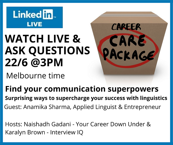 Career Care Package: Supercharge your communication