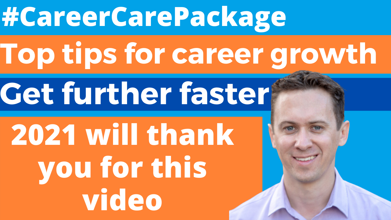 Career Care Package #185 Stuck? Overlooked? Let's talk about how to get further faster in your career