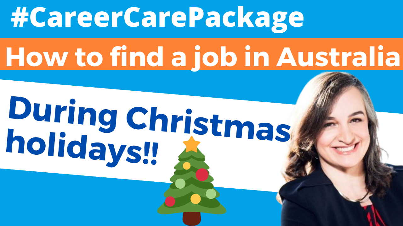 Career Care Package #176 [Job Hunting Myths] Australia shuts down between Melbourne Cup and Australia Day?