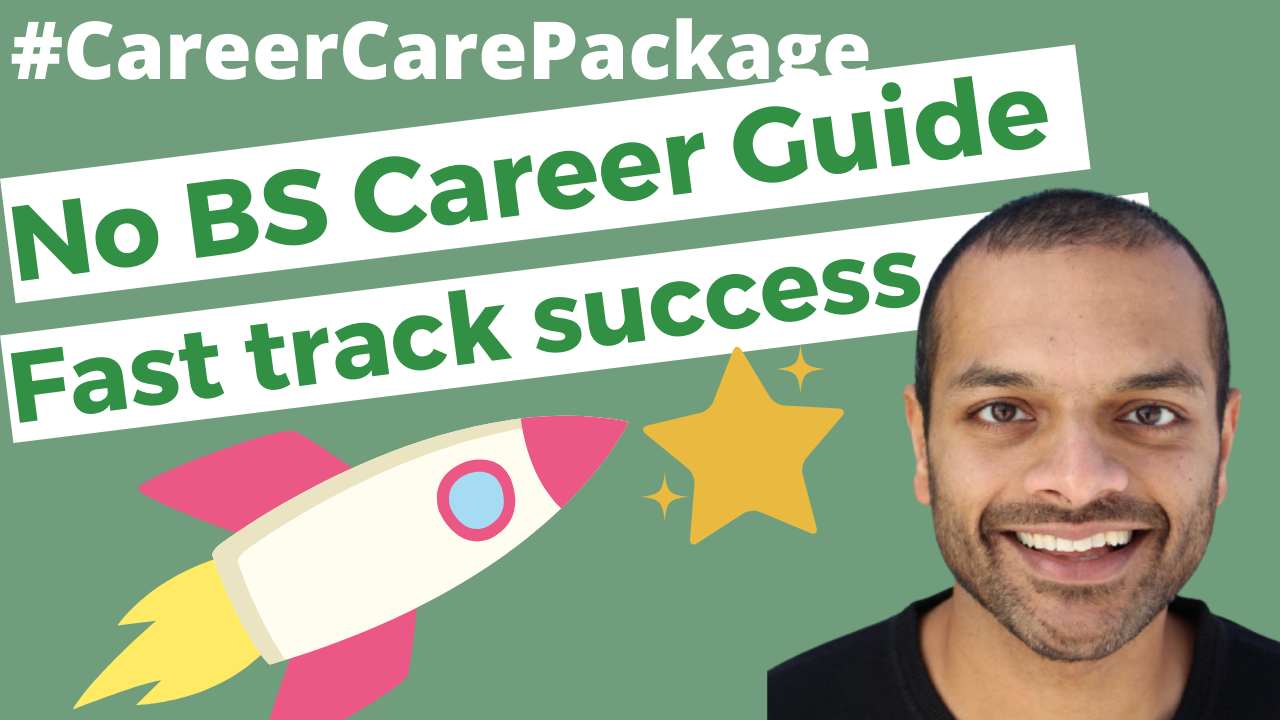 Career Care Package #170 The no BS guide we all need to have a successful and meaningful career.