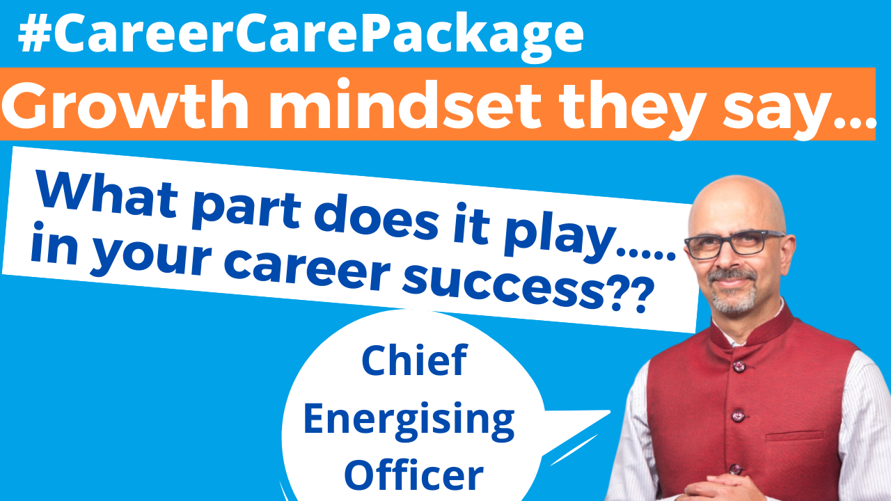 Career Care Package # 151 I always thought I needed just talent to get ahead. Turns out I was wrong.