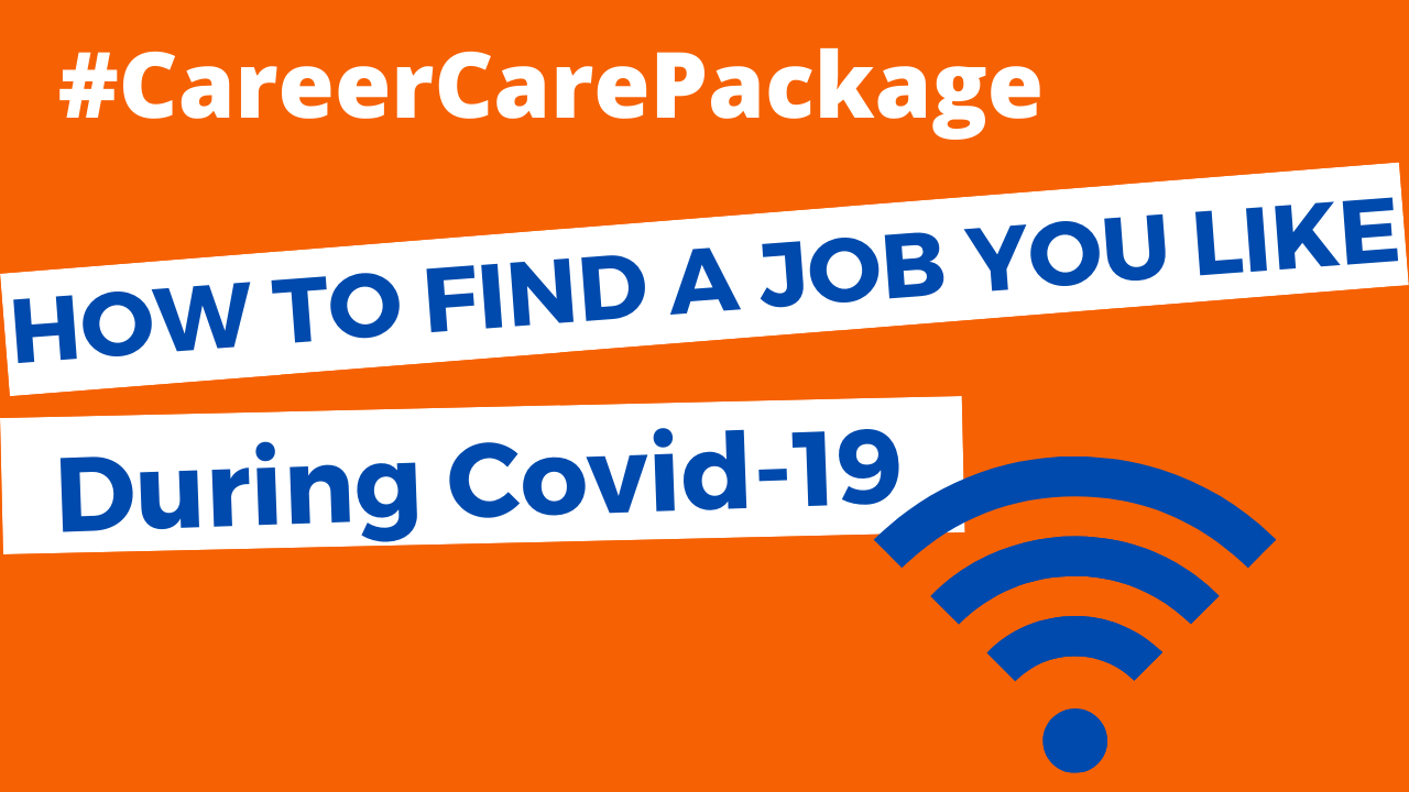 Career Care Package Episode 119 How to find a job fast (er) during Covid 19