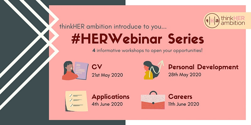 thinkHER ambition #HERWebinar Series - Applications