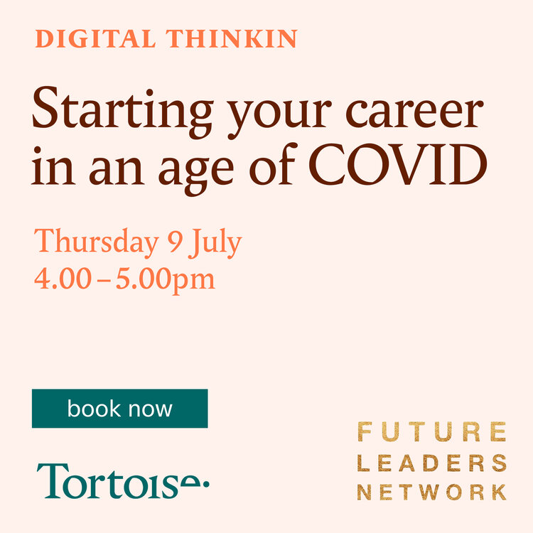 DIGITAL THINKIN: STARTING YOUR CAREER IN AN AGE OF COVID