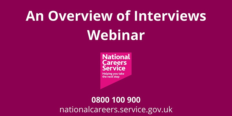 WEBINAR: An Overview of Interviews