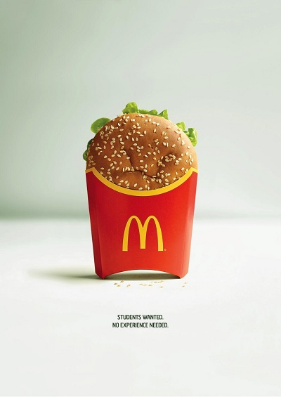 mcmistake burger talent recruitment marketing