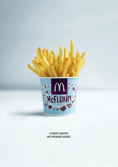 mcmistake fries talent recruitment marketing