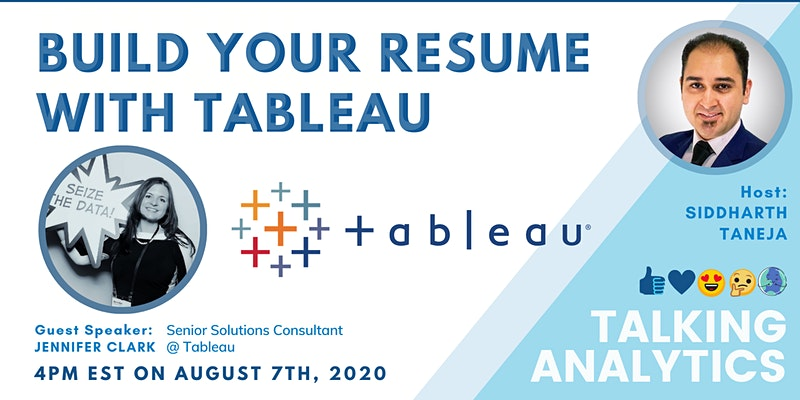 Build Your Resume with Tableau