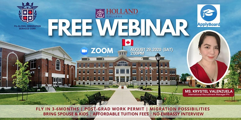 FREE WEBINAR: STUDY, WORK AND LIVE IN CANADA!