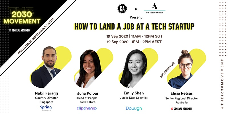 2030 Movement: How to Land a Job at a Tech Startup
