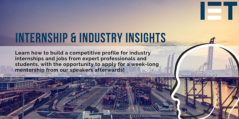 Internships and Industry Insights Event