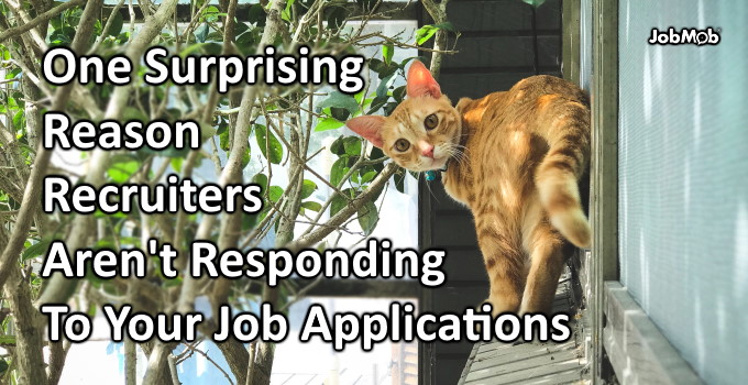 🚩 One Surprising Reason Recruiters Aren't Responding To Your Job Applications