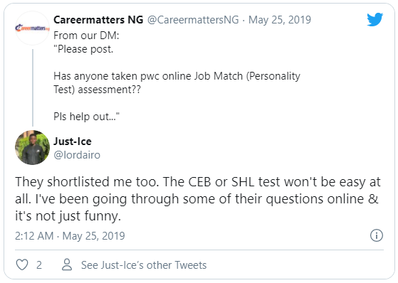They shortlisted me too. The CEB or SHL test won't be easy at all. I've been going through some of their questions online & it's not just funny.