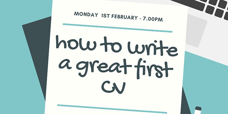 How to Write Your Great First CV