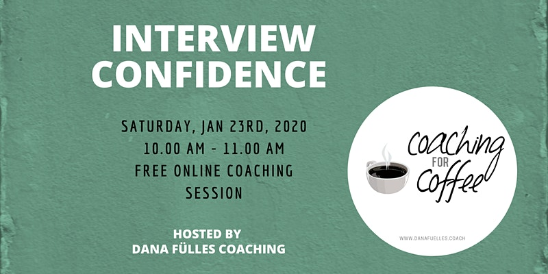 Interview Confidence - Online Group Coaching