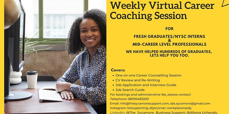Virtual Career Coaching Session