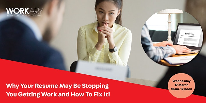 Why your resume may be stopping you getting work and how to fix it