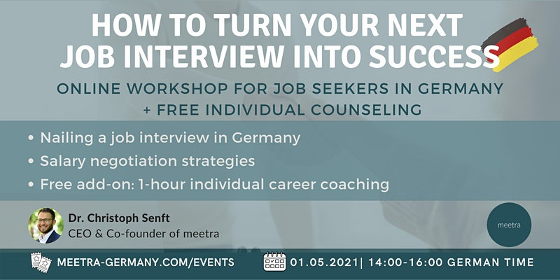 Career workshop: How to turn your next job interview into success