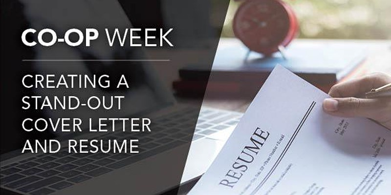 Creating a Stand-Out Cover Letter and Resume