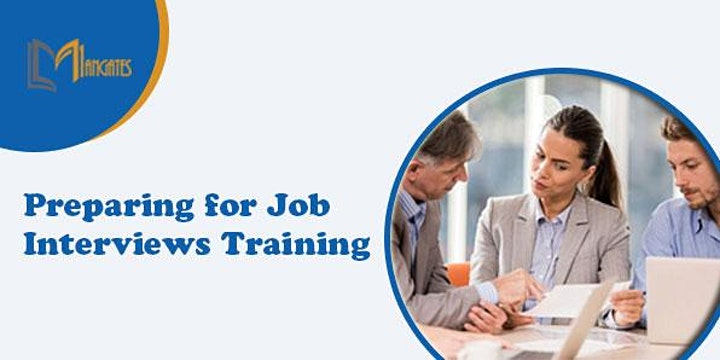 Preparing for Job Interviews 1 Day Virtual Live Training in Cologne