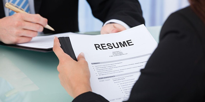 Resume and Cover Letter Virtual Workshop for New Grads