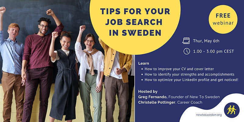 Tips for Your Job Search (CV, LinkedIn & Cover Letter Help)