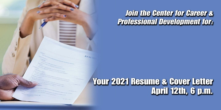 Your 2021 Resume & Cover Letter
