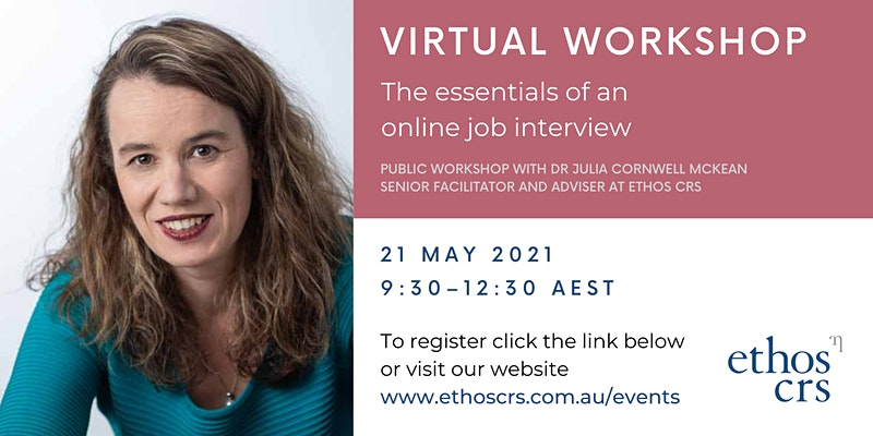 The essentials of an online job interview – May