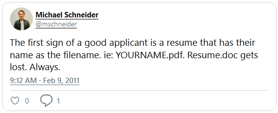 😨 Lost Your Resume and Starting to Panic?