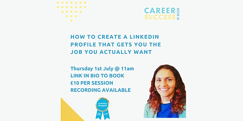 How to create a LinkedIn profile that gets you the job you want