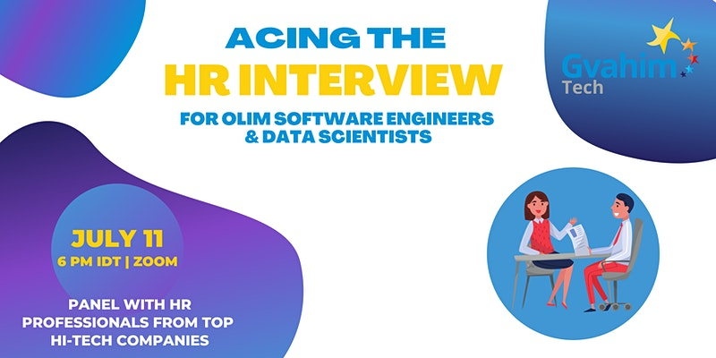Acing the HR Interview for Olim Software Engineers & Data Scientists